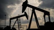 Der niedrige Ölpreis lässt manche Pumpe stillstehen.