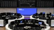 Handelssaal der Frankfurter Börse