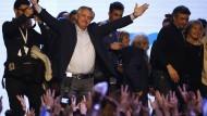 Ist der Vorwahlsieg des Peronisten Fernandez auch ein Gewinn für Argentinien? Die Finanzmärkte zweifeln daran.