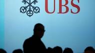 Das Logo der UBS mit den drei Schlüsseln