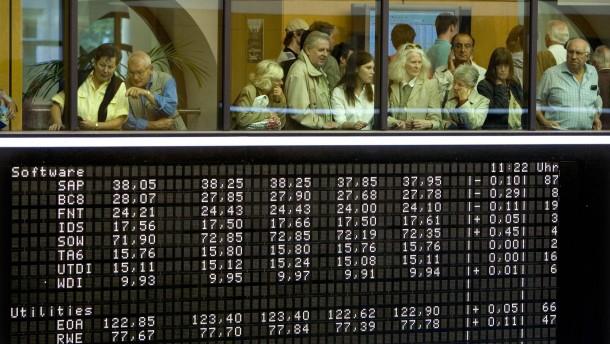 DAX Frankfurter Wertpapierbörse