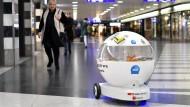 Im Testbetrieb: Snack-Roboter von Selecta