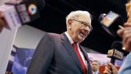 Er hat – trotz Corona – zumindest finanziell gut lachen: Starinvestor Warren Buffet.