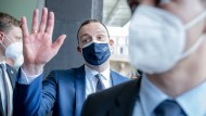 Wegen den Masken unter Druck: Bundesgesundheitsminister Jens Spahn auf einer Pressekonferenz am Donnerstag