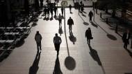 Umverteilungszentrale: Der Londoner Finanzdistrikt Canary Wharf