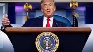 Klammert er sich an die Macht, wenn er verliert? Donald Trump am 10. September 2020 im Weißen Haus