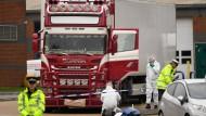 Londoner Gericht verhängt bis zu 27 Jahre Haft gegen Schleuser