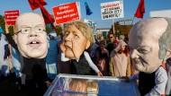 Demo gegen die Bundesregierung für einen stärkeren Klimaschutz am Mittwoch