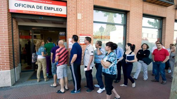 Arbeitslosigkeit in Spanien