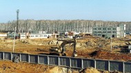 Der Atomkomplex Majak auf einer undatierten Aufnahme