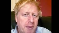 Boris Johnson in Quarantäne - drei Tage vor seiner Einlieferung in eine Londoner Klinik am Montag.