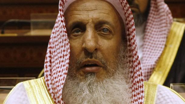 © AP Bezeichnete die Iraner kurzerhand als Ungläubige: Der saudische Grofmufti Abd Al Aziz Al Scheich.