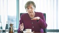 Debatte über Öffnungen: Merkels neue Tonlage