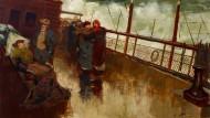 "Komfort geht anders: ""Die Passagiere"" von Girolamo Nerli, um 1890."