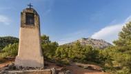 Am höchsten Punkt misst der Berg gerade einmal 1011 Meter: Kleine Kapelle an der Route Cezanne.