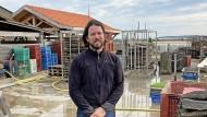 Damien Boulan, Austernzüchter in Cap Ferret, leitet das Traditionsunternehmen.