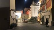Capri in der vergangenen Woche, abends um halb zehn.