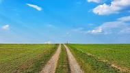 Wege gibt es viele in Deutschland. Dieser Himmelsweg liegt im Spessart bei Lohrhaupten.