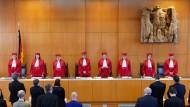 Urteil mit Signalwirkung: Das Bundesverfassungsgericht (hier im November 2019)