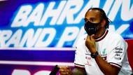 Formel-1-Star in Bahrein: Lewis Hamilton spricht deutliche Mahnung aus