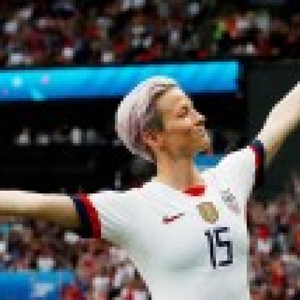 Ikone des internationalen Sports: Megan Rapinoe, die Jeanne d'Arc des Fußballs