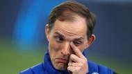 Unentschieden im Hinspiel: Thomas Tuchel will mit Chelsea ins Finale der Königsklasse.