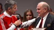 Nachfolger von Uli Hoeneß (rechts) als Bayern-Präsident: Herbert Hainer, hier 2019