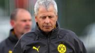 Freut sich über den gelungenen Auftakt, will aber von der Meisterschaft nichts hören: BVB-Trainer Lucien Favre