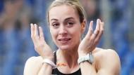 Alexandra Burghardt zeigte ihre Klasse bei den deutschen Meisterschaften.