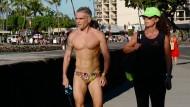 In Kailua-Kona gibt es derzeit eine Zurschaustellung der Körperwelten.