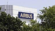 Die Zentrale des europäischen Flugzeugherstellers Airbus in Toulouse