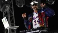 """Snoop Dogg während eines DJ-Sets im Oktober 2020: Sein Debütalbum """"Doggystyle"""" erschien im November 1993 über Death Row Records."""