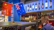 Peking wirft den Australiern den Fehdehandschuh zu