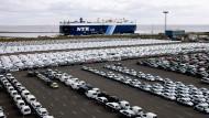 Gemacht für die Welt: Von Emden aus verlassen Autos auf dem Seeweg das Land