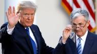 Steht unter Druck eines Präsidenten im Angriffsmodus: Amerikas Notenbank-Chef Jerome Powell