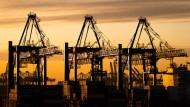 Containerverladung am Hamburger Hafen