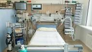 Auf 100.000 Einwohner kommen in Deutschland mehr Intensivbetten als in vielen anderen Ländern.