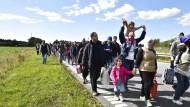 Während des Sommers 2015 hat es auch viele Flüchtlinge nach Dänemark gezogen. Welche Rolle dabei Sozialtransfers gespielt haben, ist kaum zu ermitteln.