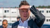 Elon Musk war unlängst auch in Grünheide, wo gerade eine neue Tesla-Fabrik entsteht.
