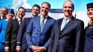 Chefmanager und Chefaufseher: Lufthansa-Vorstandsvorsitzender Carsten Spohr und Aufsichtsratsvorsitzender Karl-Ludwig Kley