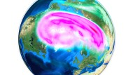 Der Polarwirbel bestimmt den Verlauf des Winters in unseren Breiten.