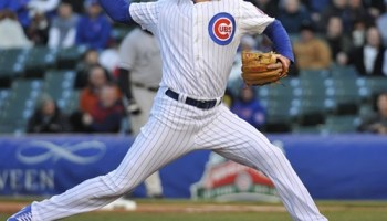 Against the White Sox last week, Samardzija went nine innings, gave up no earned runs, got the Cubs' only hit through the first eight innings, and scored their only run. For which he got a no decision.
