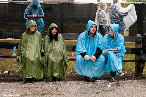 Aww! Gift-wrapped Riot Fest fans! You shouldnt have!