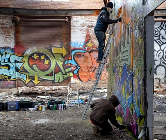 A Snapshot Survey Of The Artists Gallerists And Fans In The Citys Bustling Urban Art Scene