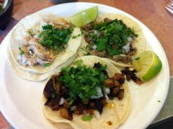 Cheap tacos ... and free accoutrements at Taqueria Moran