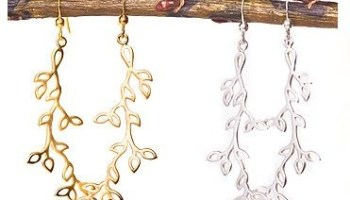 Earrings by Sway Jewelry, a line featured at Krista K during this weekends Southport Stroll