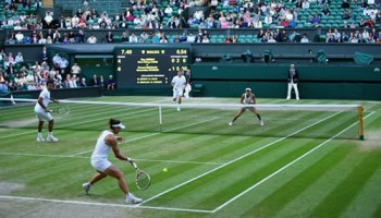 Fans, analysts, and other philosophical types continue to debate whether soccer or baseball best represents the human condition--but what about doubles tennis?