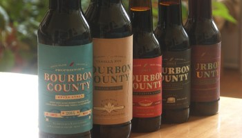 Goose Island sent me several sexy photos of this years Bourbon County lineup, but because I am stubborn and prideful I insisted on taking my own.