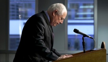 Governor Pat Quinn concedes to challenger Bruce Rauner on Wednesday. Meanwhile, the next big campaign--for mayor--was already underway.