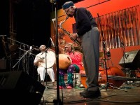 Hamid Drake, William Parker, and Fred Anderson